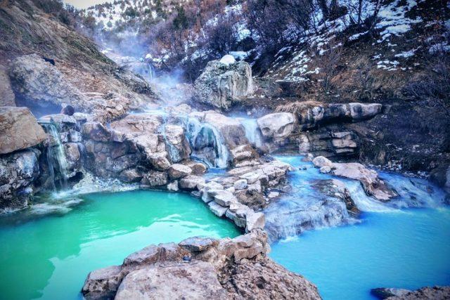 Diamond Fork Hot Springs Utah
