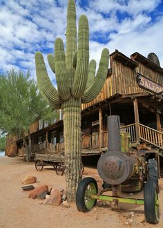 Ghost Towns in Arizona Goldfield