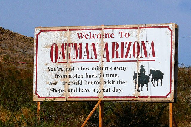 Ghost Towns of Arizona Oatman