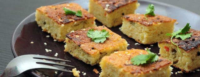 Handvo Savory Gujarati Food