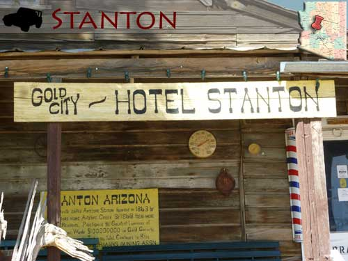 Haunted Ghost Towns Arizona Stanton
