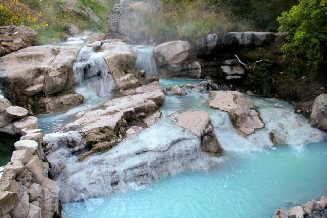 Hot Springs in Utah