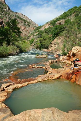 Hot Springs near Ogden Utah