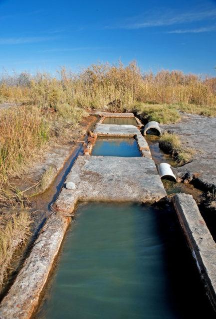 Man-made Baker Hot Springs