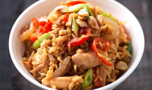 Nasi Goreng Spicy Indonesian National Food