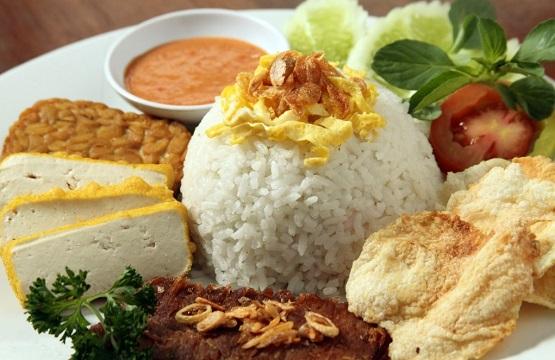 Nasi Uduk Festival Indonesian Food