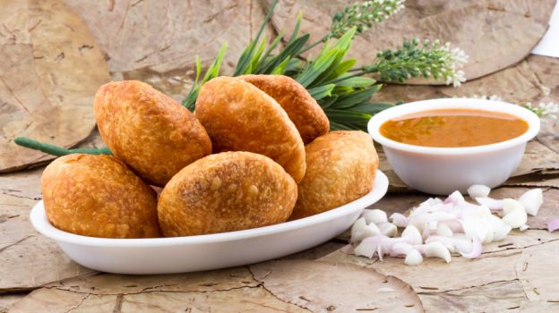 Pyaz Kachori Delicious Rajasthani Food