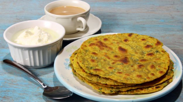 Thepla Gujarati Breakfast Food