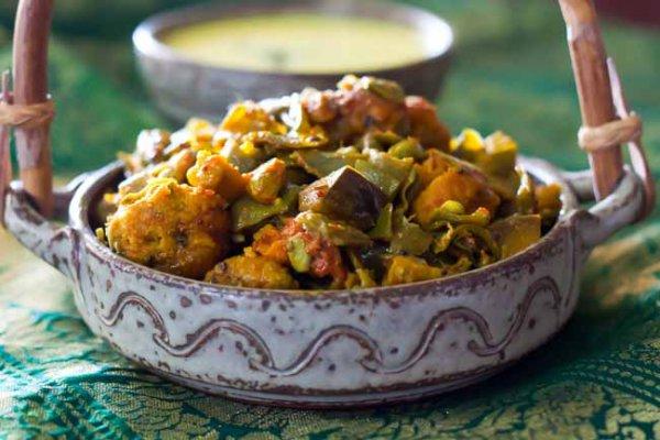 Undhiyu Gujarati Festival Food