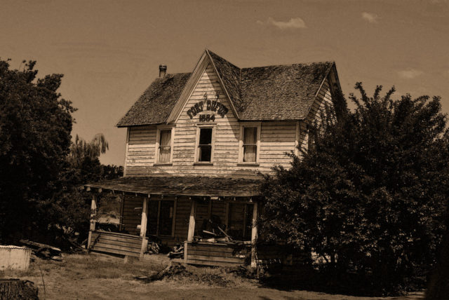 Wasco County Ghost Town