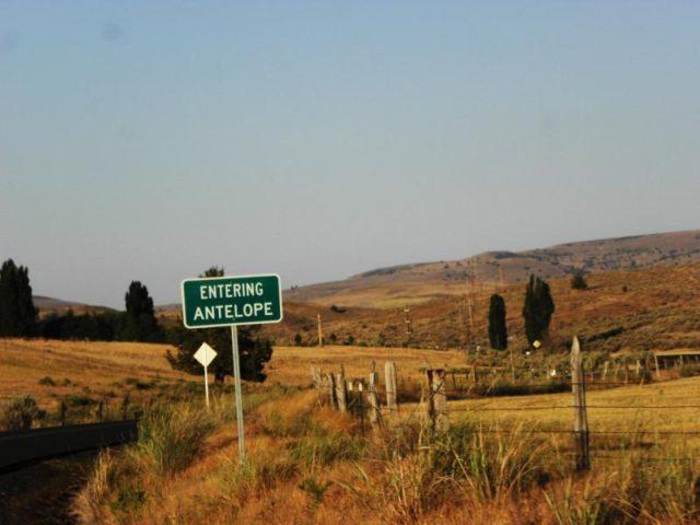Antelope Oregon Ghost Town