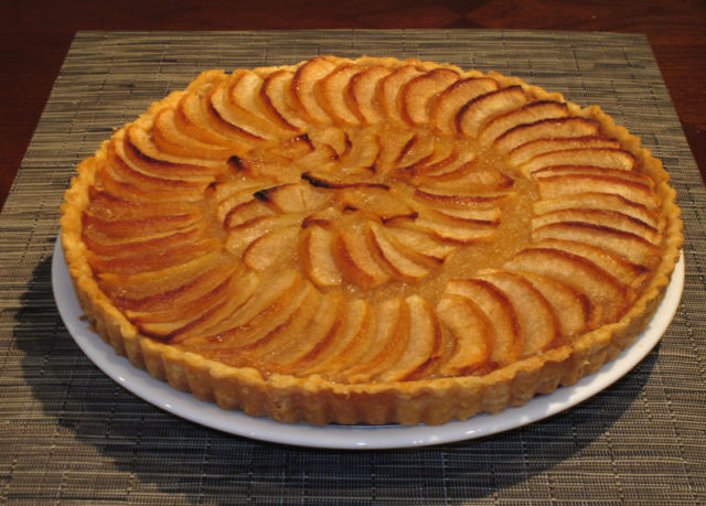 Apple Tart Traditional French Dessert