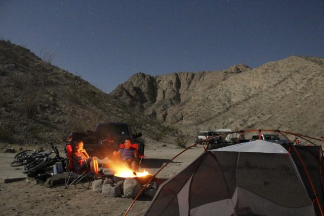 Camping in Southern California