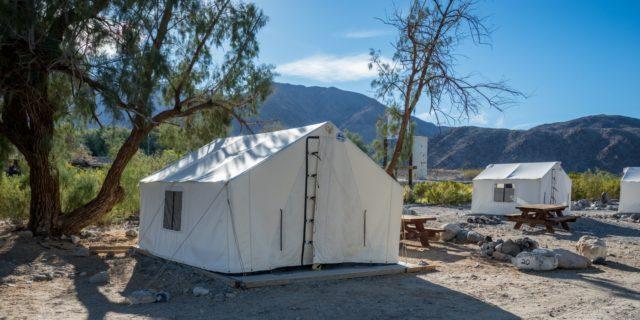Death Valley Campsite