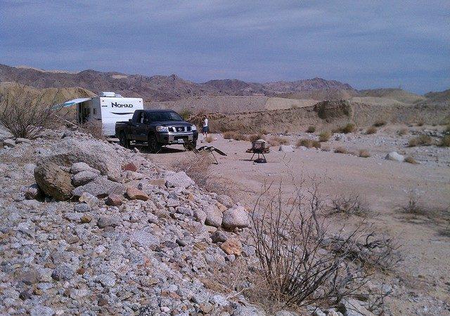 Fish Creek Desert Camping Southern California