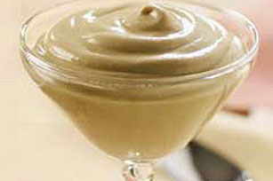 French Vanilla Mousse Classic Dessert