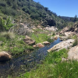 Hikes in San Diego with Waterfalls Cottonwood Creek Falls
