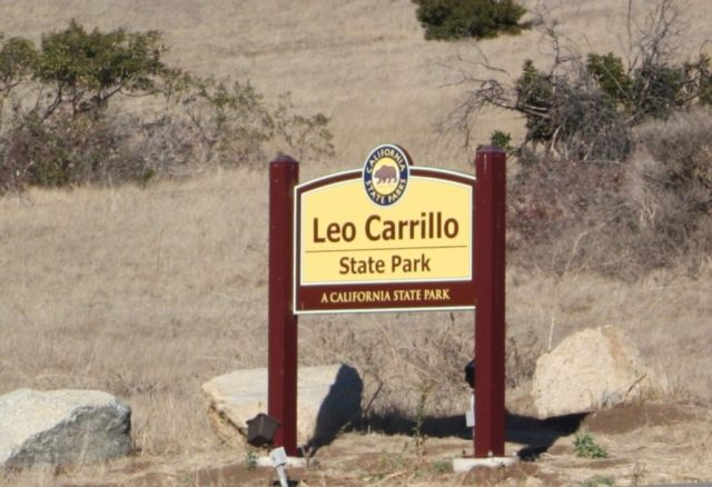 Leo Carillo State Park Beach Camping Southern California