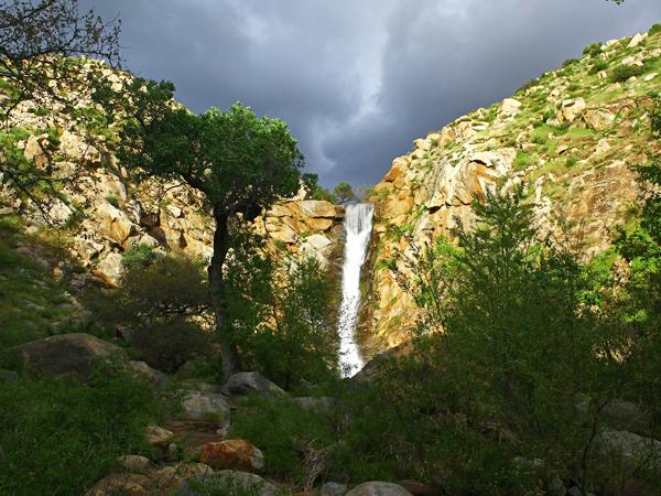 San Diego Waterfall Hike Cedar Creek Falls