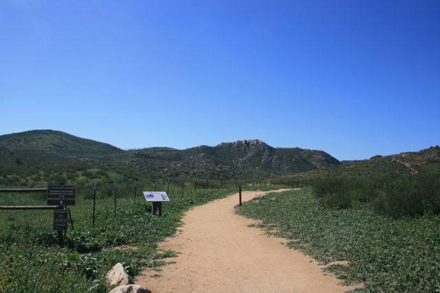 San Diego Waterfall Hike Piedras Pintadas Trail