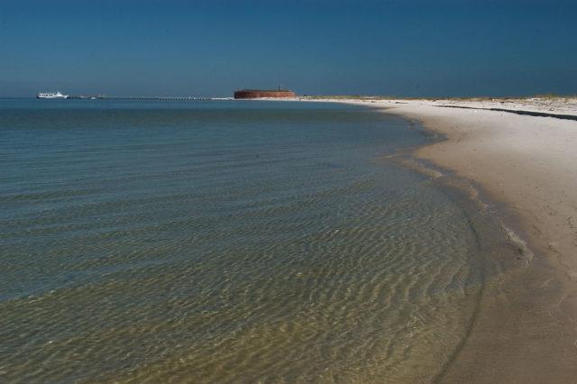 Ship Island Beaches near New Orleans