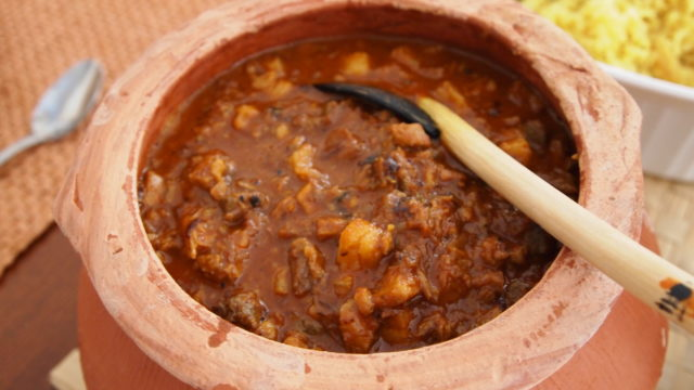 Sorpotel Goan Special Easter Food