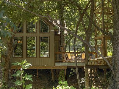 Tree House Rentals Texas Birdseye Perch