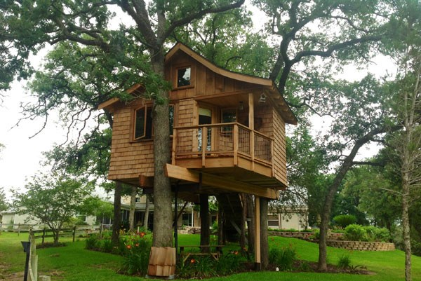 Tree House Rentals in Texas Davis Ranch Retreat