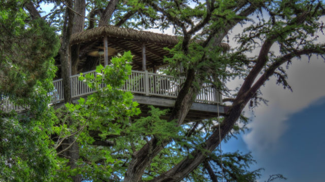 Tree House Texas Frio River Treetop