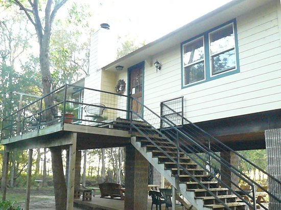 Tree House Vacation Cabin Texas