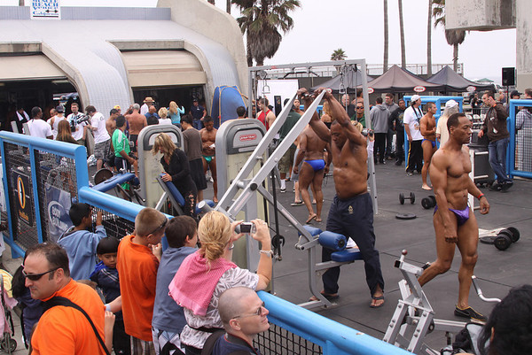 Venice Beach Muscle Beach