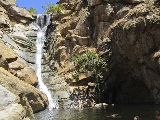 Waterfall Hike San Diego Cedar Creek falls
