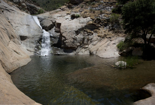 Waterfall Hikes in San Diego Three Sisters Falls Trail