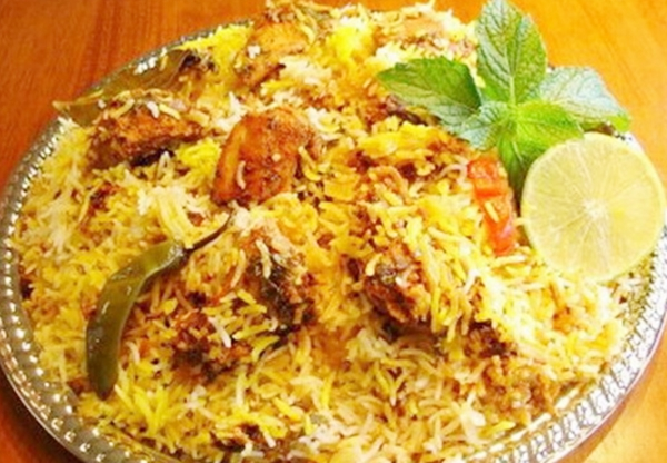 Traditional Indian Food Biryani
