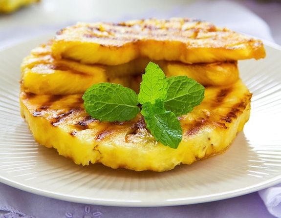 Piña Asada Simple Cuban Pineapple Dessert