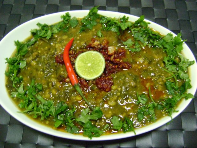 Sai Bhaji Popular Pakistani Food