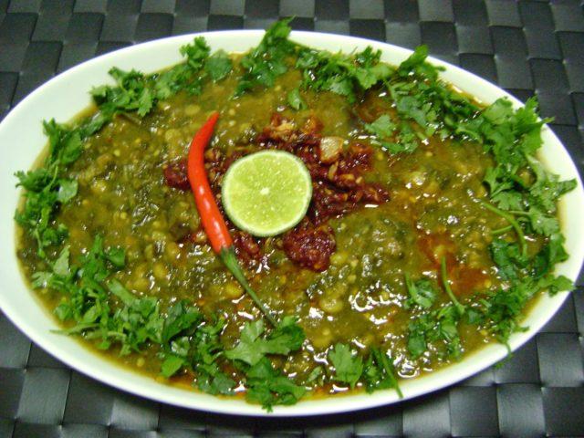 Sai Bhaji Popular Pakistani Food