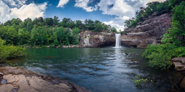 Alabama Waterfall DeSoto Falls