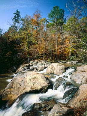 Alabama Waterfalls Chewacla Falls