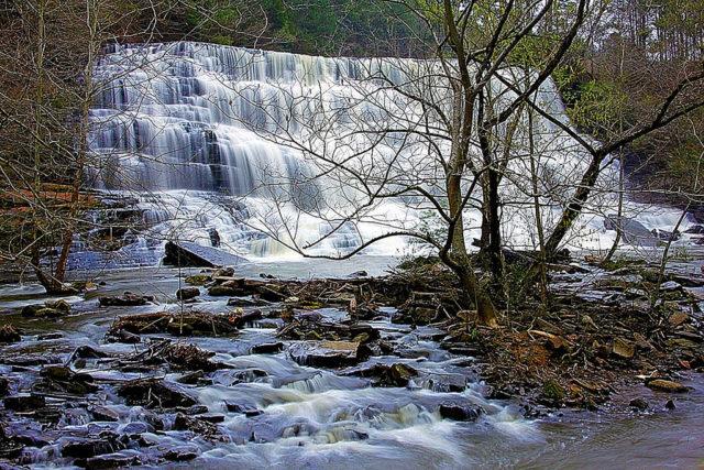 Alabama Waterfalls Welti Falls