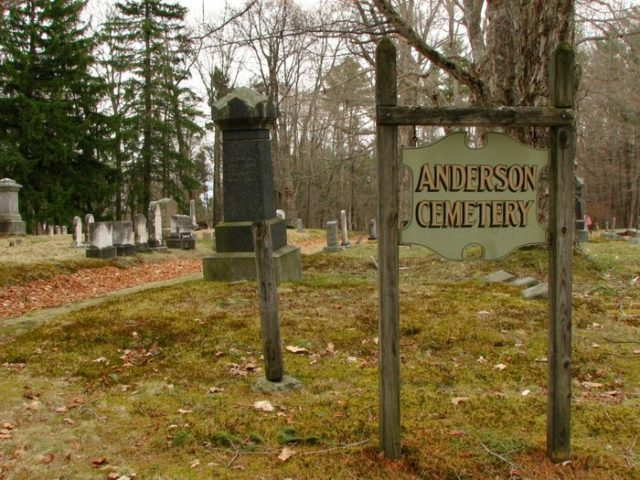 Anderson Cemetery Haunted Maine