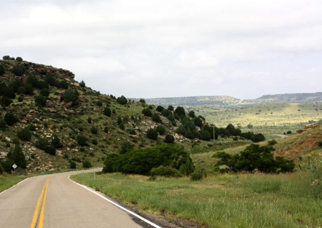 Beautiful Road Oklahoma