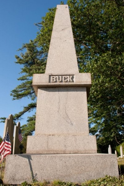 Buck Cemetery Haunted Maine
