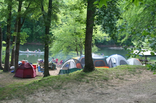Buffalo river Camping