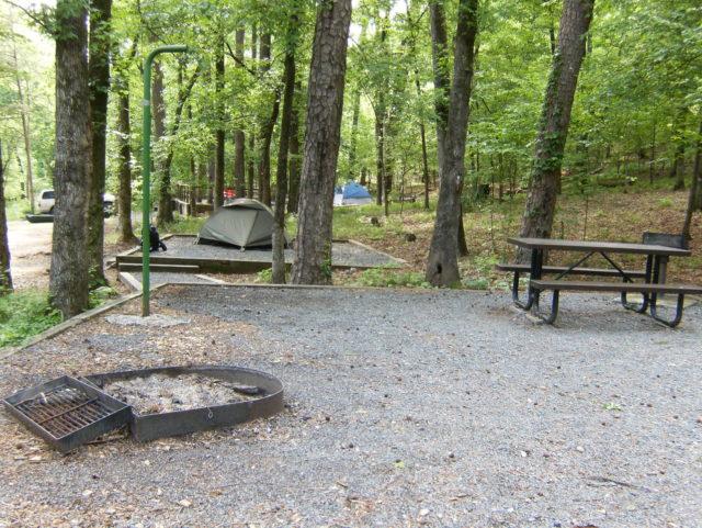Cossatot River State Park Camping Arkansas