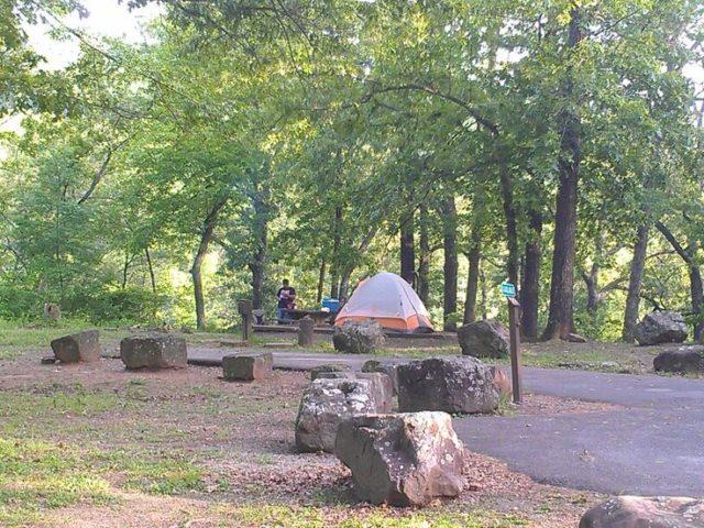 Devil's Den Camping Arkansas