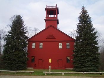 First Parish Meetinghouse Haunted Maine