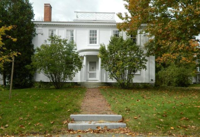 Governor Smith House Most Haunted Places in Maine