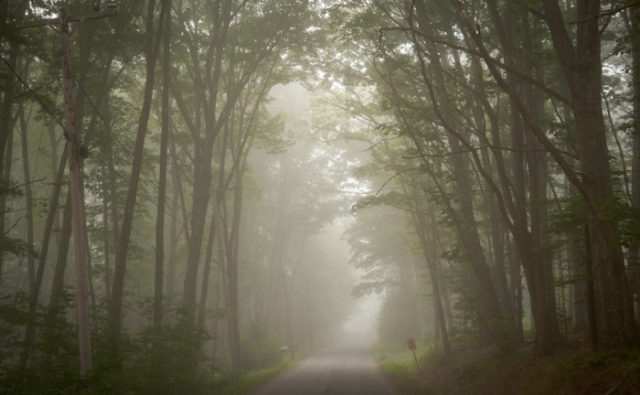 Haynesville Road Haunted Maine