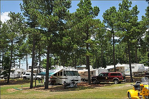 Iron Mountain Rv Camping in Arkansas